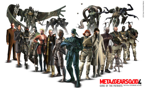 We want to have the priemier list of genuine Metal Gear Solid 4: Guns