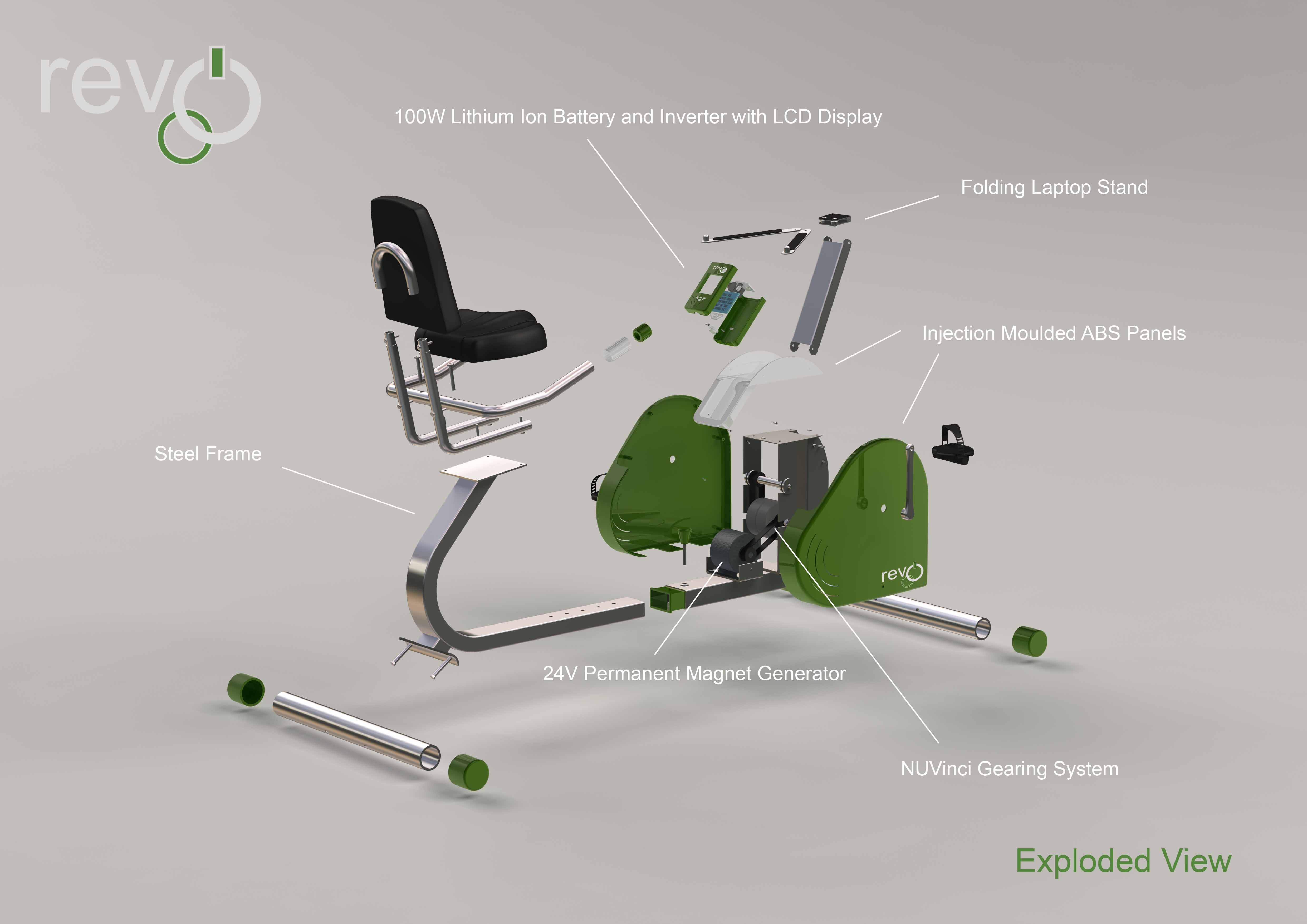 Pedal Power Prototype – Power Biking