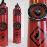 Fire Extinguisher Speakers – Ring The Alarm