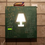 Calculating Chalkboard Maths Lamp – Figure It Out