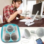500XL Desktop Speakers – Supersize iPod Earbuds
