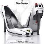 Lamborghini Gallardo stilettos » High Speed Footsie