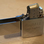 Blu-ray laser Zippo Lighter » Lethal Laser Light Show
