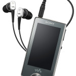 Sony NW-X1000 » OLED Touchscreen Walkman