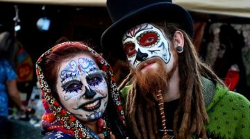 Celebrating Day of the Dead in Advance