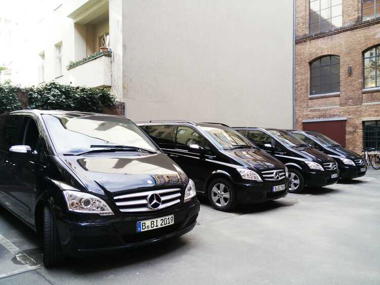 Blacklane lined up Vans