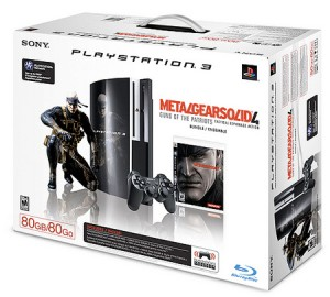 MGS4 PS3 Box Art