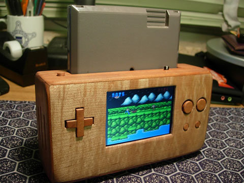 Wooden Portable Nes