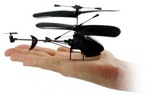 Black Stealth 3-channel mini chopper