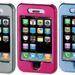 Metallic Iphone Cover by Princeton- Mirror Effect