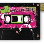 Wallet MP3 Player With Retro Cassette Goren Design