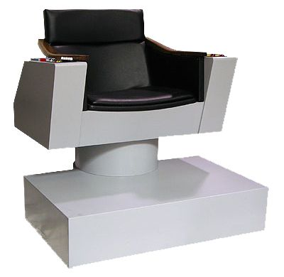 Star Trek Captain Kirk Enterprise  Command Chair