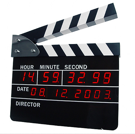 clapboard-alarm-clock