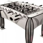 Bling Foosball – Diamond Plate Foosball Table