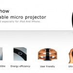 iShow And Tell – Apple iPod Micro Projector