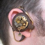 Steampunk Bluetooth Earpiece