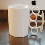 Knuckle Duster Mug! – Don't Be A Mug All Your Life