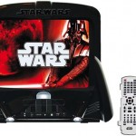Star Wars TV with Integrated DVD and Lightsaber Remote