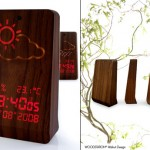 Woodstation Clock – Hi-Tech Wood