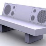 Bluetooth Boombench – Boombox Seating