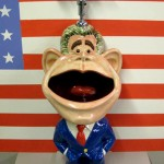 George Bush Presidential Urinal – Taking The Piss