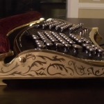 Steampunk Datamancer Ergo – IBM M-15 Ergonomic Keyboard