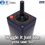 USB Atari 2600 Joystick – Old School FTW