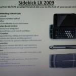 Sidekick LX 2009