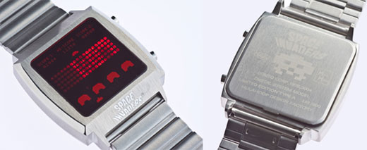 space_invaders_led_watch