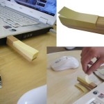 2GB Wooden USB Stick With Post-it Notes » Super Practical