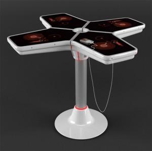 4-leaf-ipod-dj-table