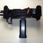 Fully-Automatic LEGO Uzi 9MM » For Rubber Band Killers