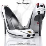 Lamborghini Gallardo stilettos » High Speed Footsie