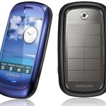 Samsung Blue Earth Handset » Eco Friendly Phone