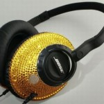 Swarovski Encrusted Bose Headphones » Expensive Sound