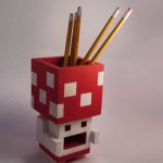 3D Toad Pencil Holder