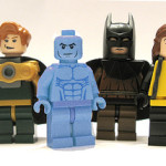 Lego Watchmen Minifigs » Dr Manhattan Get's Touched Up