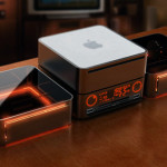Mac Mini Dockable Desktop Radio