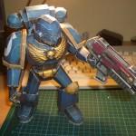Papercraft Space Marine » Origami Warhammer 40k