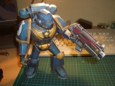 Papercraft Ultramarine