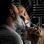 Nonesiste Laser-Etched Motherboard Mirror