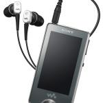 Sony NW-X1000 » OLED Touchscreen Walkman
