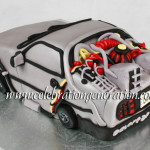 Back to the Future Delorean Cake