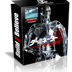 TERMINATOR T800 Endoskeleton Paper Craft Model