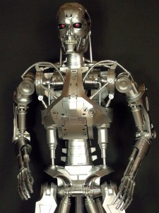 TERMINATOR T800 Endoskeleton Paper Craft Model 2