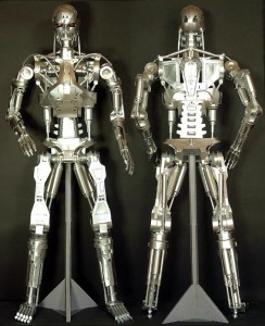 TERMINATOR T800 Endoskeleton Paper Craft Model 3