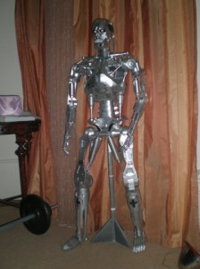 TERMINATOR T800 Endoskeleton Paper Craft Model 4