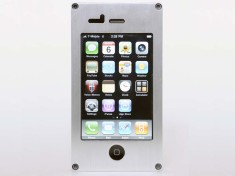 EXOvault Titanium iPhone Case