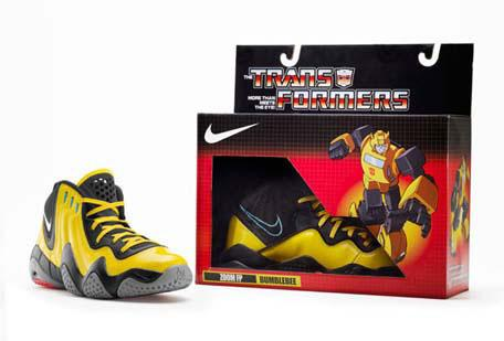 Nike transformers-shoes-bumblebee