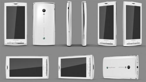 Sony Ericsson Rachael User Interface